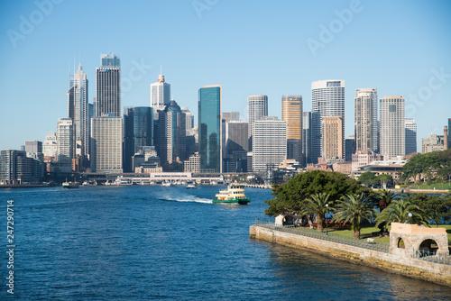 Canvas Prints Sydney Harbour