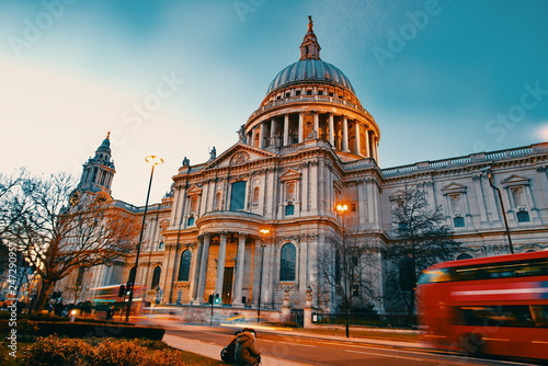 Fotomural  st pauls cathedral london