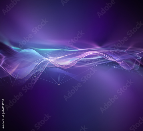 Abstract technology background Fototapete