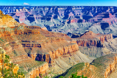 Foto op Canvas Verenigde Staten Amazing natural geological formation - Grand Canyon in Arizona, Southern Rim.