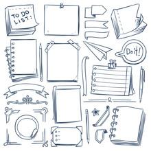 Bullet Journal Sketch Elements...