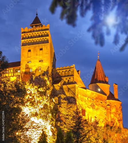 Foto op Plexiglas Historisch geb. Bran or Dracula Castle in Transylvania, Romania.
