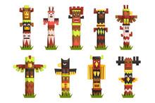 Traditional Religious Totem Po...