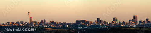 Johannesburg panoramic skyline