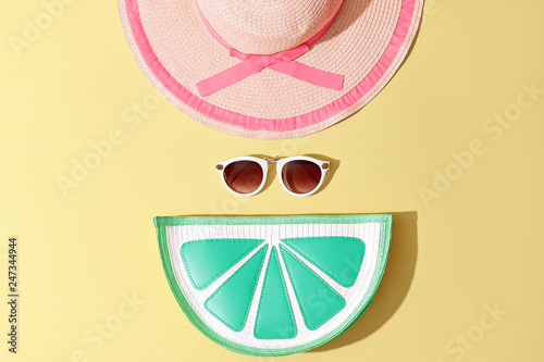 Fotografia  Fashion Summer Woman Trendy Accessories