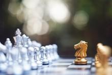 Chess Board Game, Winner Winni...