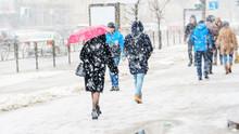 Blizzard In An Urban Environme...