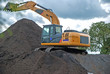 excavator working, excavator, excavator working from Thailand country
