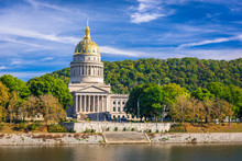West Virginia State Capitol In Charleston, West Virginia, USA
