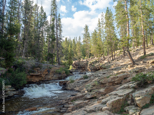 Uinta-Wasatch-Cache National Forest, Mirror Lake, Utah, United States, America, near Slat Lake and Park City #247366971