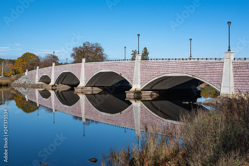Berkley Bridge Memorial Park Canvas Print
