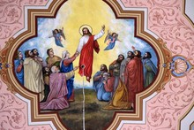 Ascension Of The Lord, Fresco ...