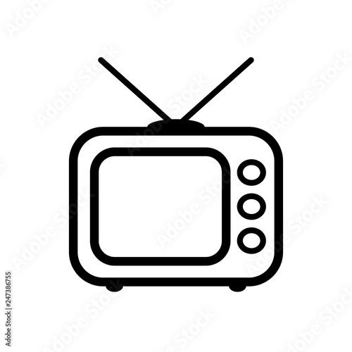 Retro TV icon - Buy this stock vector and explore similar