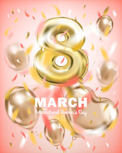Greeting Banner 8th March, Int...