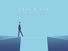 Business Risk Vector Concept W...