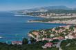Adriaküste bei Senji in Kroatien