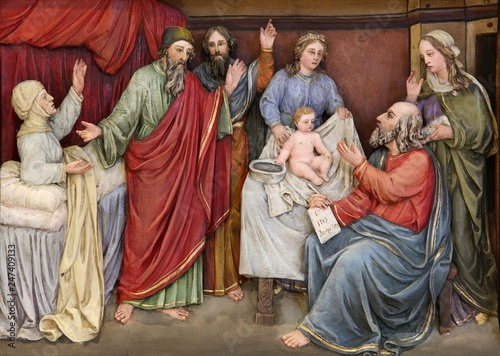 Canvas Print Birth of St
