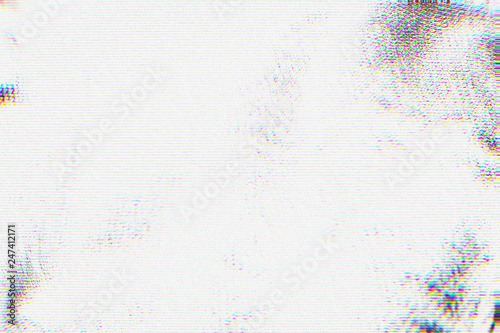 Photo Abstract texture with video glitch error for background