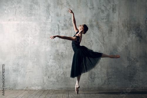 Ballerina female Fototapet
