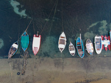 The Boats In Porto Cesario, Pu...