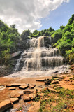 Kintampo waterfalls (Sanders Falls during the colonial days) -  one of the highest waterfalls in Ghana.