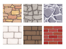 Wall Game Textures. Seamless R...