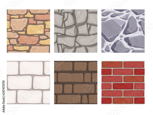 Wall game textures Canvas