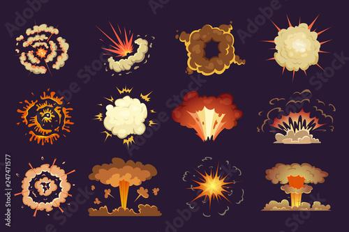 Bomb explosion Canvas