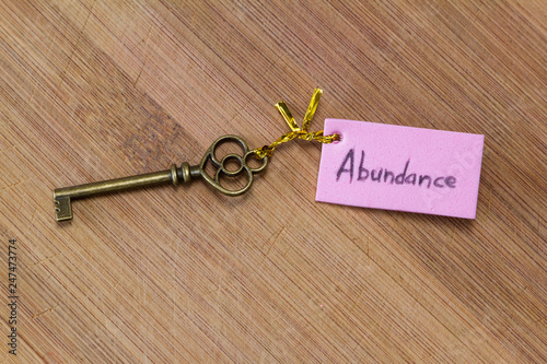 Photo Key to abundance