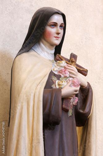 Sainte-Bernadette Soubirous Canvas Print