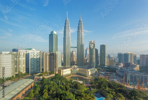 Kuala Lumpur city, Malaysia Canvas Print