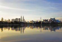 Titiwangsa Lake In Kuala Lumpur, Malaysia