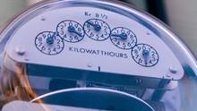 Close Of Of Utility Meter, Filmed In 4K RAW