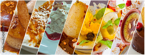 Valokuva  assortiment de desserts