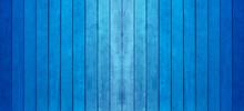 Lamelles De Bois Bleu