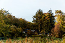 Farms Cottage Between Autumn F...