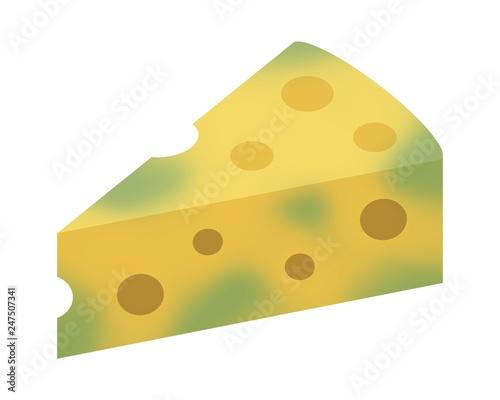 Photo  カビの生えたチーズ
