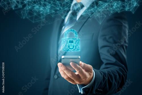 Photo  Face identification smart phone unlock