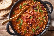 American Cowboy Beans With Gro...