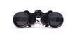 Vintage binoculars isolated