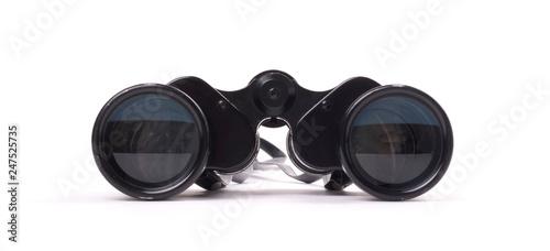 Fotografiet  Vintage binoculars isolated