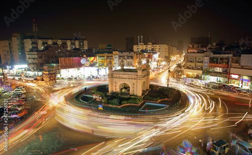 Beautiful View Of Bahadurabad Chorangi, Karachi, Pakistan - 247526921