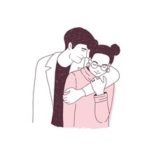 Adorable Couple On Romantic Da...
