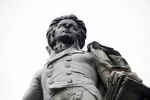 Statue Of Mozart In Vienna, Austria