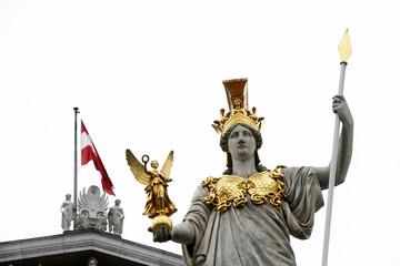 Pallas Athene ispred austrijskog parlamenta