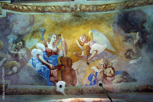 Saint Cecilia Fototapet