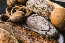 Many Mixed Breads And Handmade...