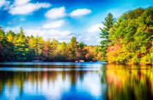 Burr Pond State Park Autumn Ne...