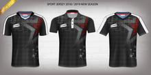 Polo T-shirt With Zipper, Raci...