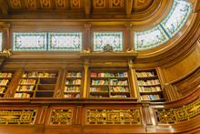 Elegant Library Interior View